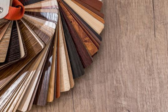 Différents coloris revêtement de sol